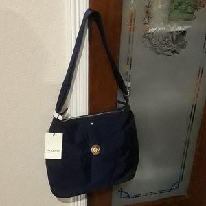 Baggallini navy blue  bag